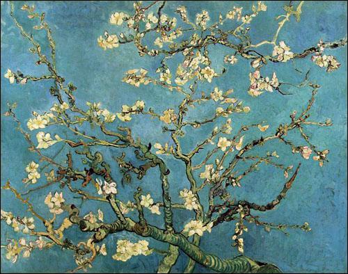 Qui a peint Branches fleuries d'amandier ?