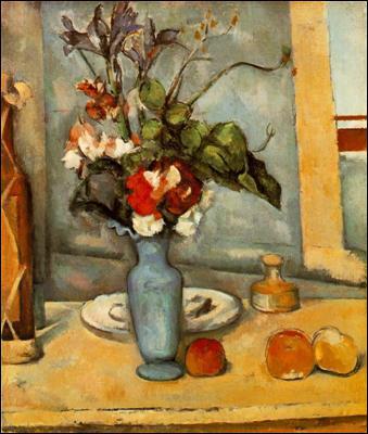 Qui a peint Le vase bleu ?