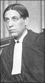Ses dates 1889-1967; il fut l'avocat de Violette Nozière et membre de l'Académie Française :