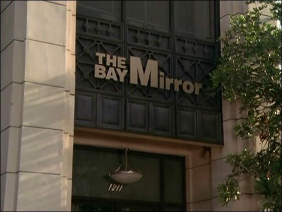 Qui remplace Phoebe au Bay Mirror durant son congé sabbatique ?