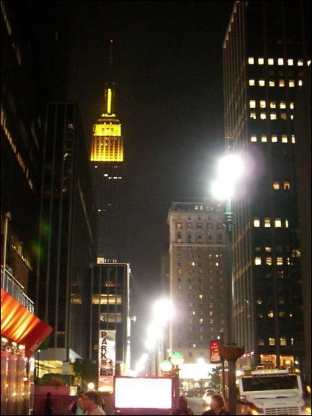 Le clin d'oeil de l'Empire State Building est en relation avec...