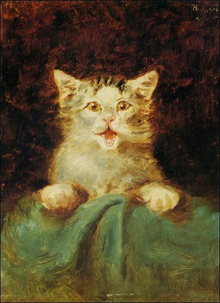Qui a peint le Chat ?