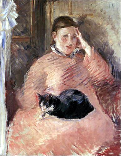 Qui a peint Femme avec le chat ?