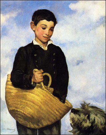 Qui a peint Garçon avec un chien ?