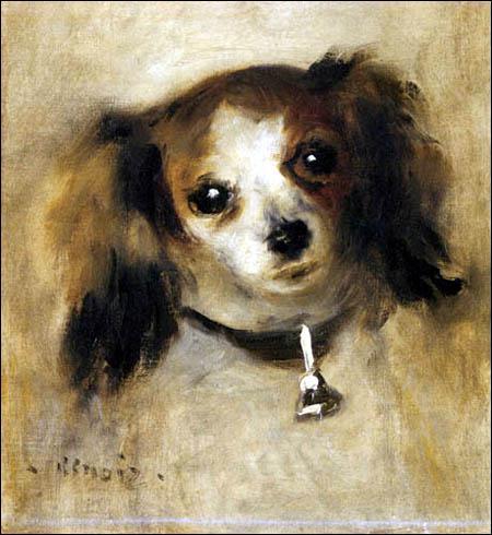 Qui a peint La tête d'un chien ?