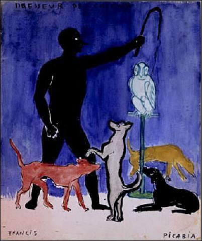 Qui a peint Dresseur de chiens ?