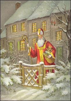 À quelle date fête-t-on la Saint Nicolas dans le Nord et l'Est de la France ?
