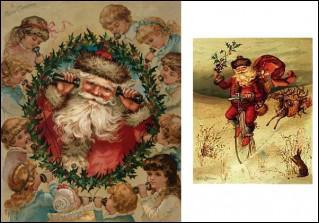 Qui créa le Père Noël en rouge ?