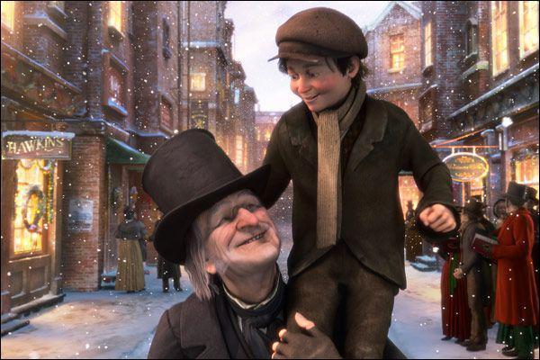Dans le film d'animation 'Le drôle de Noël de Scrooge', quel acteur prête ses traits à Cratchit l'employé malheureux de Scrooge ?