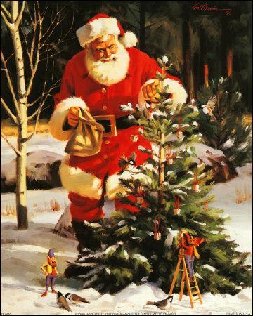 Comment se nomme le Père Noël en Finlande ?
