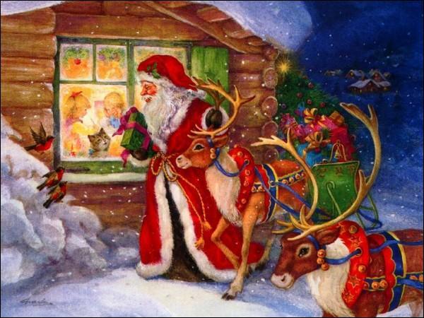 Le Père Noël possède huit rennes et chacun porte un nom, lequel de ces trois n'existe pas ?