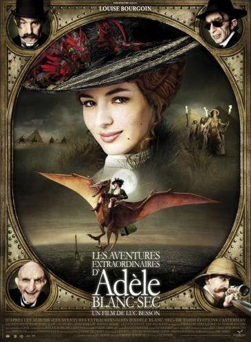 Adèle Blanc-Sec, les personnages du film