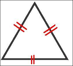 Combien mesure chaque angle d'un triangle équilatéral ?