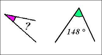 Cochez la proposition correspondant à 2 angles supplémentaires :