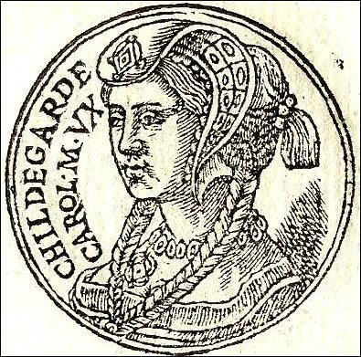 Hildegarde était l'épouse de...
