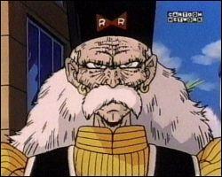 C-17 et tous les autres cyborgs ont été créés par ce personnage. Comment s'appelle-t-il ?