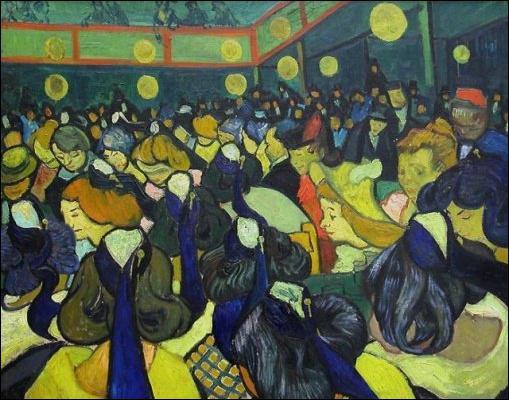 Qui a peint Salle de danse à Arles ?