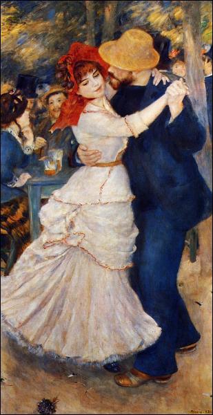 Qui a peint Danse à Bougival ?
