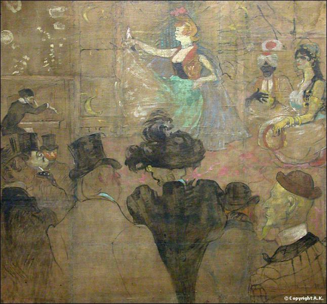 Qui a peint La danse mauresque ?
