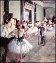 Qui a peint Cours de danse ?