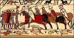 Quelle bataille est illustrée sur la tapisserie de Bayeux ?
