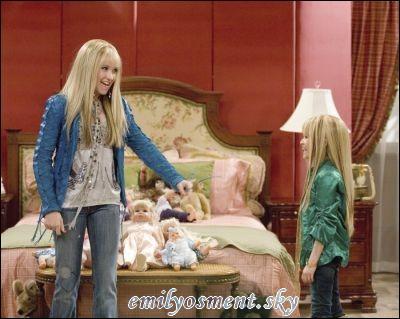 Dans cet épisode, qui est la petite fille déguisée en Hannah Montana ?