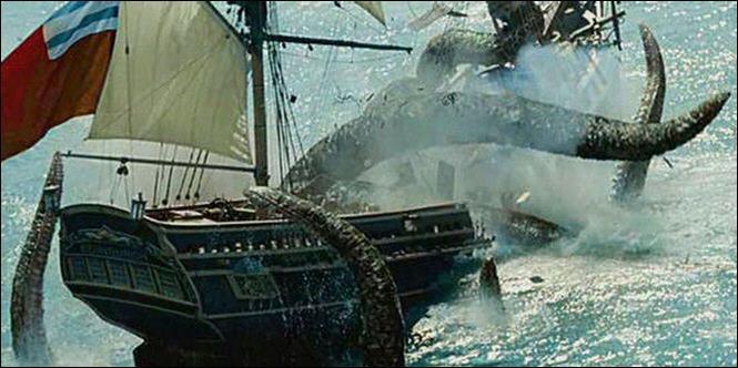 Comment s'appelle la bête de Davy Jones ?