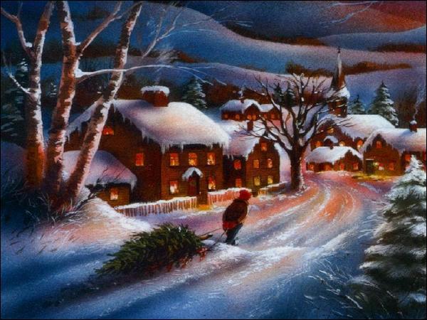 Quel est le mot anglais qui désigne l'hiver, saison durant laquelle se déroule Noël ?