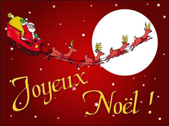 Et pour finir, comment dit-on Noël en anglais ?