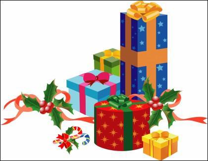 A Noël, le Père Noël nous offre des cadeaux. Comment dit-on 'cadeau' en anglais ?