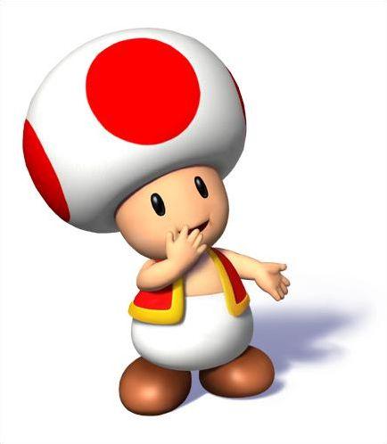 Les champignons des jeux Mario
