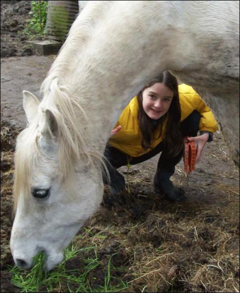 La taille du poney au garrot se mesure