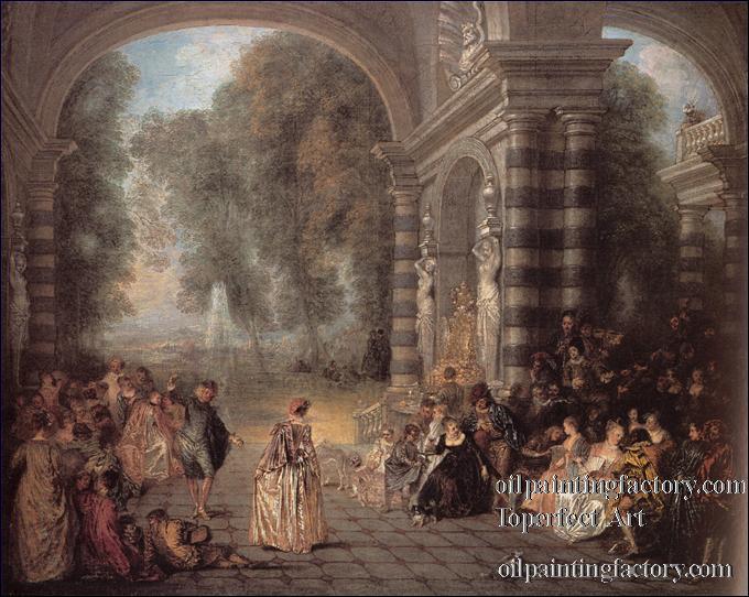 En France, dans le domaine de la peinture, quel est le principal représentant du style rococo ?