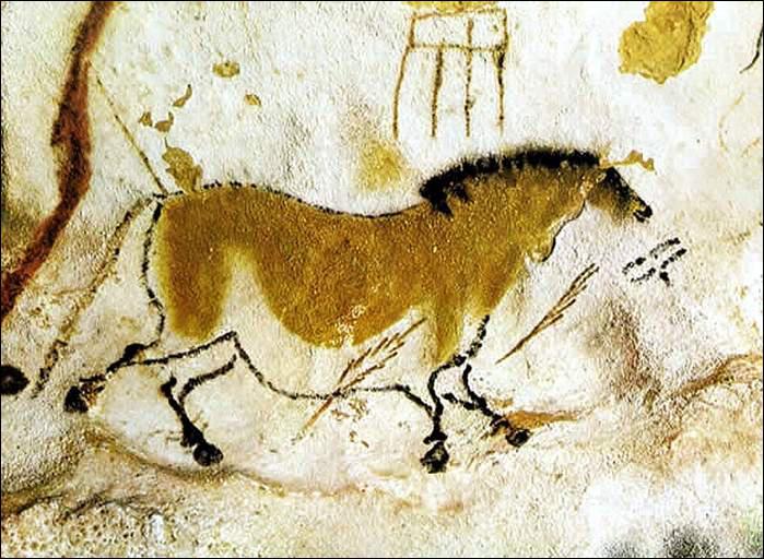 Les premières peintures rupestres du Paléolithique datent d'environ de :