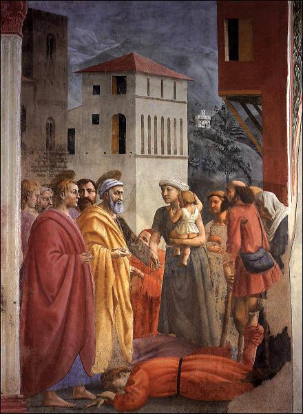 Chronologiquement, quel est le premier peintre de la Renaissance italienne ?