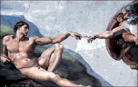 Quel peintre a travaillé au décor du plafond de la chapelle Sixtine ?