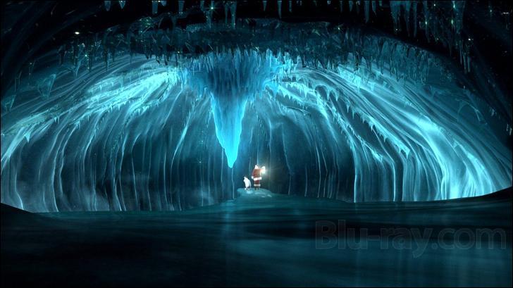 Comment est le glacier à la fin du film ?