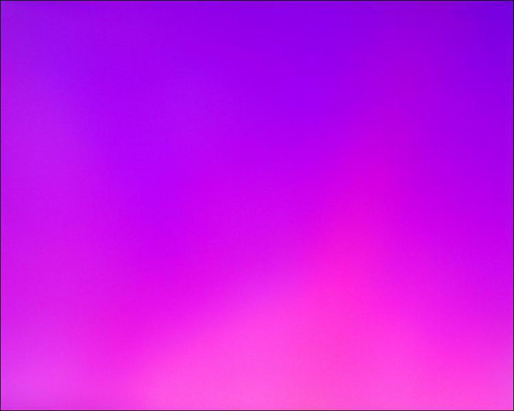 Quelle couleur voit-on le plus sur du violet ?