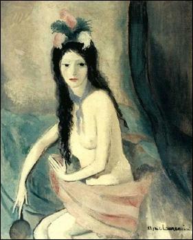 Quelle peintre a réalisé 'Nu au miroir' ?