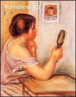 Quel peintre a réalisé 'Gabrielle portant un miroir et portrait de Coco' ?
