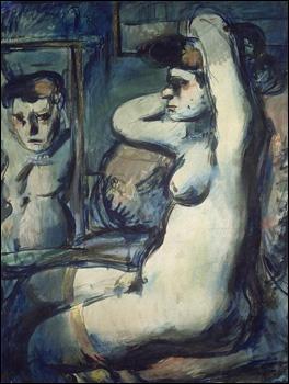Quel peintre a réalisé 'Fille au miroir' ?