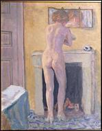 Quel peintre a réalisé 'Nu devant le miroir' ?