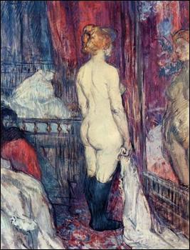 Quel peintre a réalisé 'Nu devant un miroir' ?
