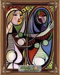 Le miroir en peinture