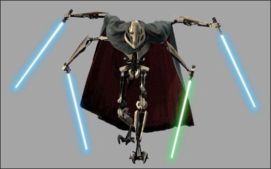Ce droïde est-il un jedi ?
