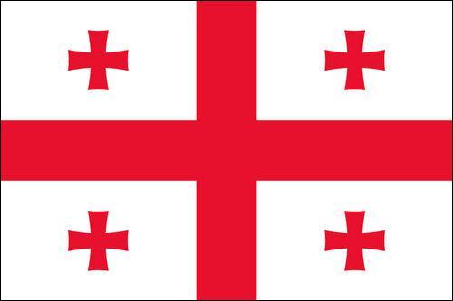 Quel pays ayant Tbilissi pour capitale, possède ce drapeau ?
