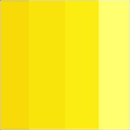 Le ... est la couleur du soleil