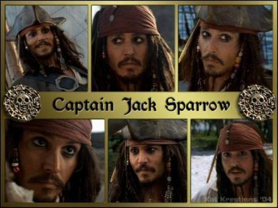 Comment s'appelle son personnage dans  Pirates des Caraïbes  ?