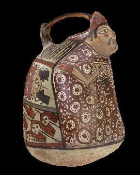 Datée entre 100 av. J. -C. à 700 ap. J. -C. , cette poterie représentant un personnage masculin a été ramenée par la Mission Capitaine Paul Berthon. Elle est l'œuvre de :