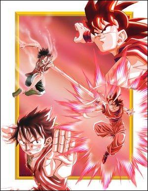 Sur cette image, un personnage vient d'un autre manga que dragon ball. Lequel ?